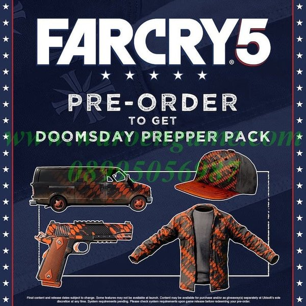 Ps4 Far Cry 5 Deluxe Edition .R3 . Region 3 . Playstation 4 Game.