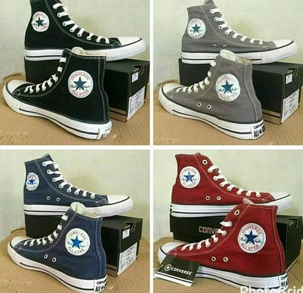 Harga Sepatu Converse All Star High Original Terbaru Maret 2019 ... d1b10ee1a5
