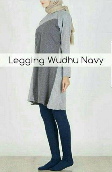 Legging Wudhu bhn Jersey