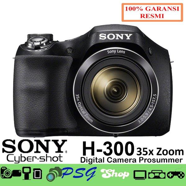 Kamera Sony DSC H300 - CyberShoot DSC H300