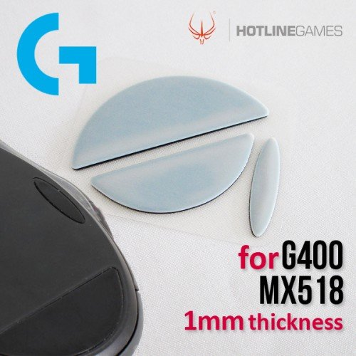 Hotline Mouse Feet/Glide for Logitech G400/G400s