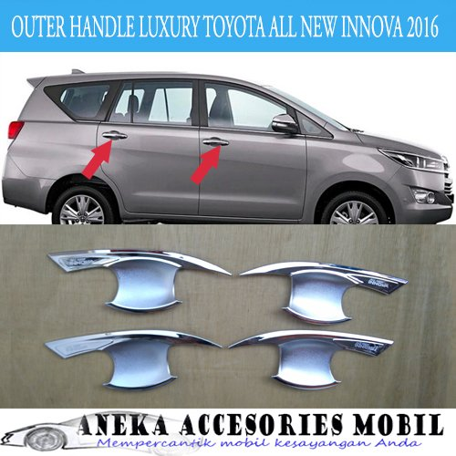 Outer Handle Luxury Mobil Toyota Innova All New Innova Reborn 2016