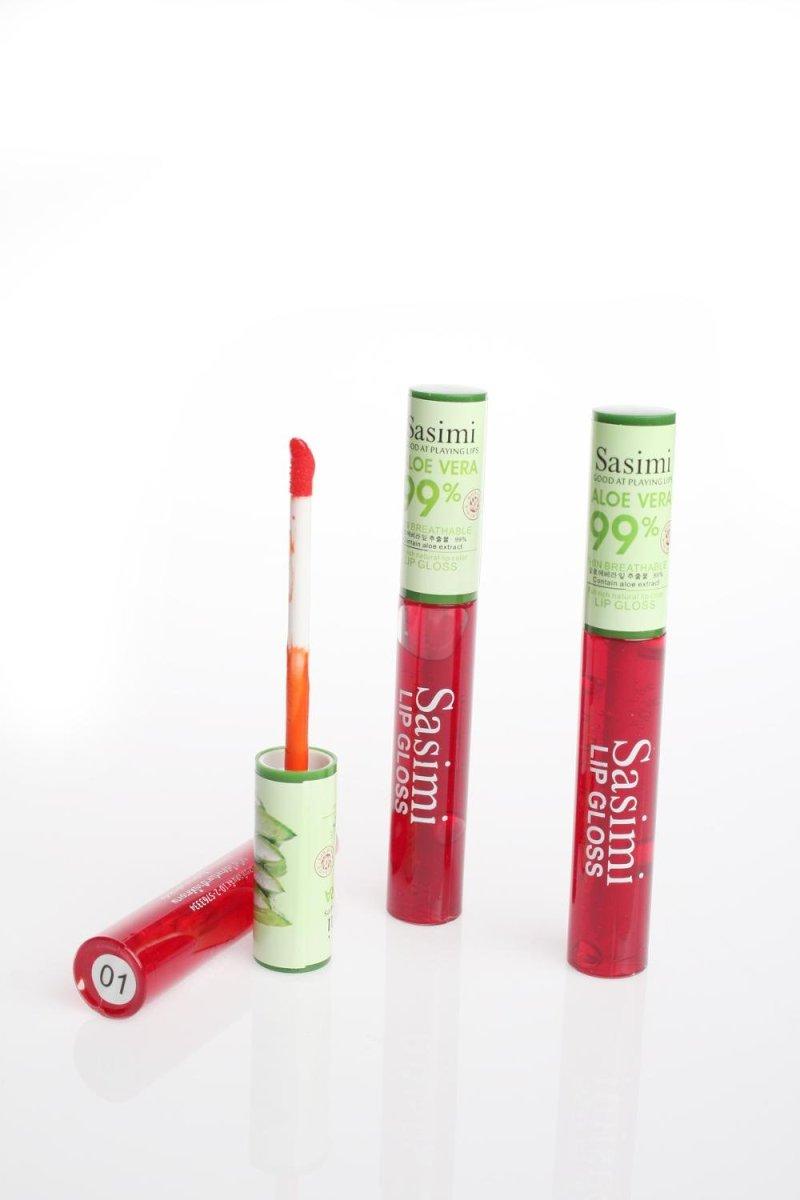Sashimi Aloe Vera Lip Gloss Bioaqua Balm Jual Sasimi Di Lapak Elly Kosmetik Batam