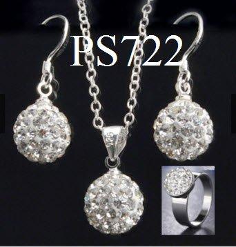 Perhiasan Set (kalung xuping anting Korea cincin imitasi gelang)