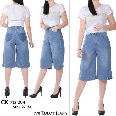 Celana Jeans JUMBO - Kulot 7/8. CK 712 204