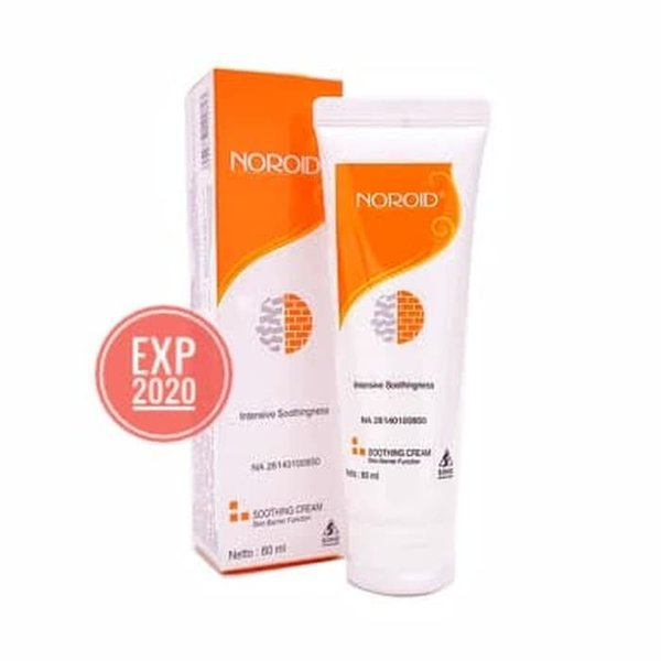 UNIK Noroid Soothing Cream 80 mL Pelembab Kulit Sensitif Kering Atopik 80mL MURAH