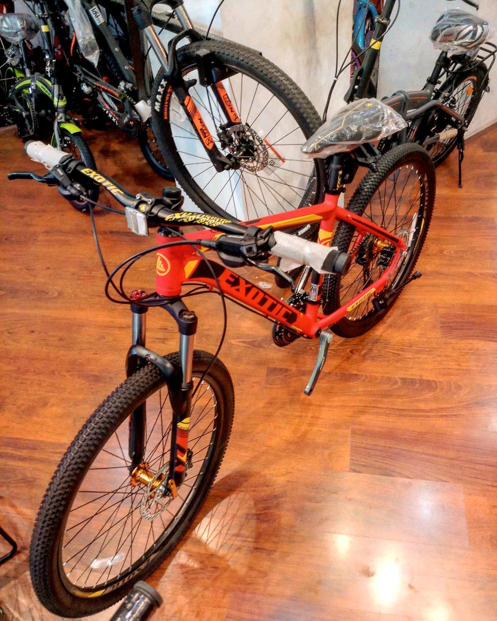 Jual Sepeda Mtb Exotic 2612 xt 9 speed di lapak Laksana ...