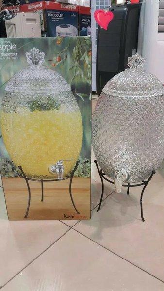 Promo KRIS Dispenser Beverage Hygienic Water bentuk nanas - bee - anggur