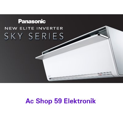 AC PANASONIC 1.5 PK CS-VU13SKP NEW ELITE INVERTER SKY SERIES MADE IN JAPAN