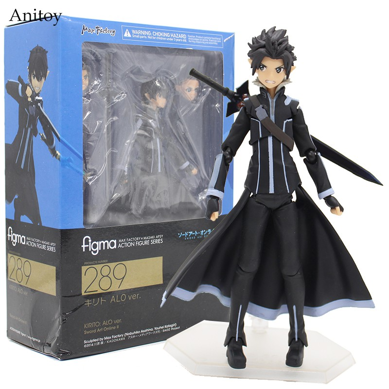 Japanese Anime Other Anime Collectibles Figure Sao Collection Toy Figma 248 Gift Toys Sword Art Online 2 Kirito Ggo Ver Animation Art Characters Zsco Iq