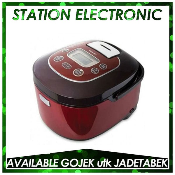 Rice Cooker Sharp KS-TH18RD Rice Cooker - Red