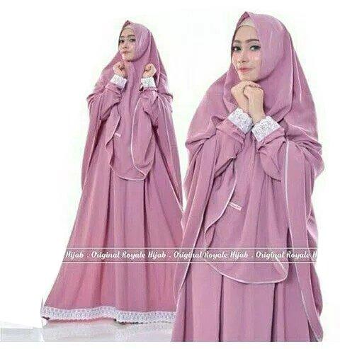 Baju Muslim Gamis Maryam Syari