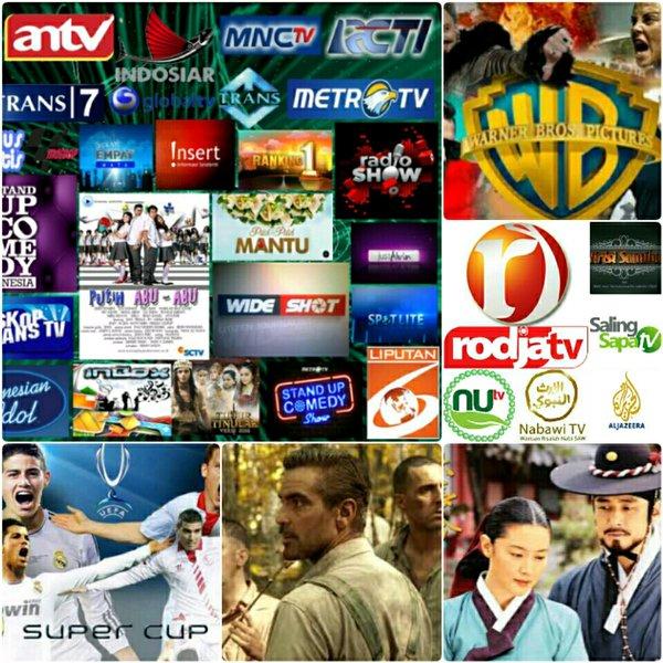 Parabola mini Ninmedia bebas iuran (Antena Parabola, Receiver, Decoder, TV Digital, Antena TV)