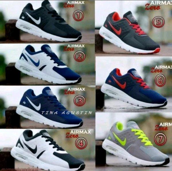 Sepatu Kets Nike airmax zero sneakers olahraga made vietnam grade ori mode zoom flyknite