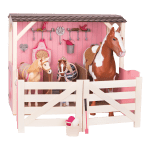 Saddle Up Stables 18 Inch Horse Barn Our Generation