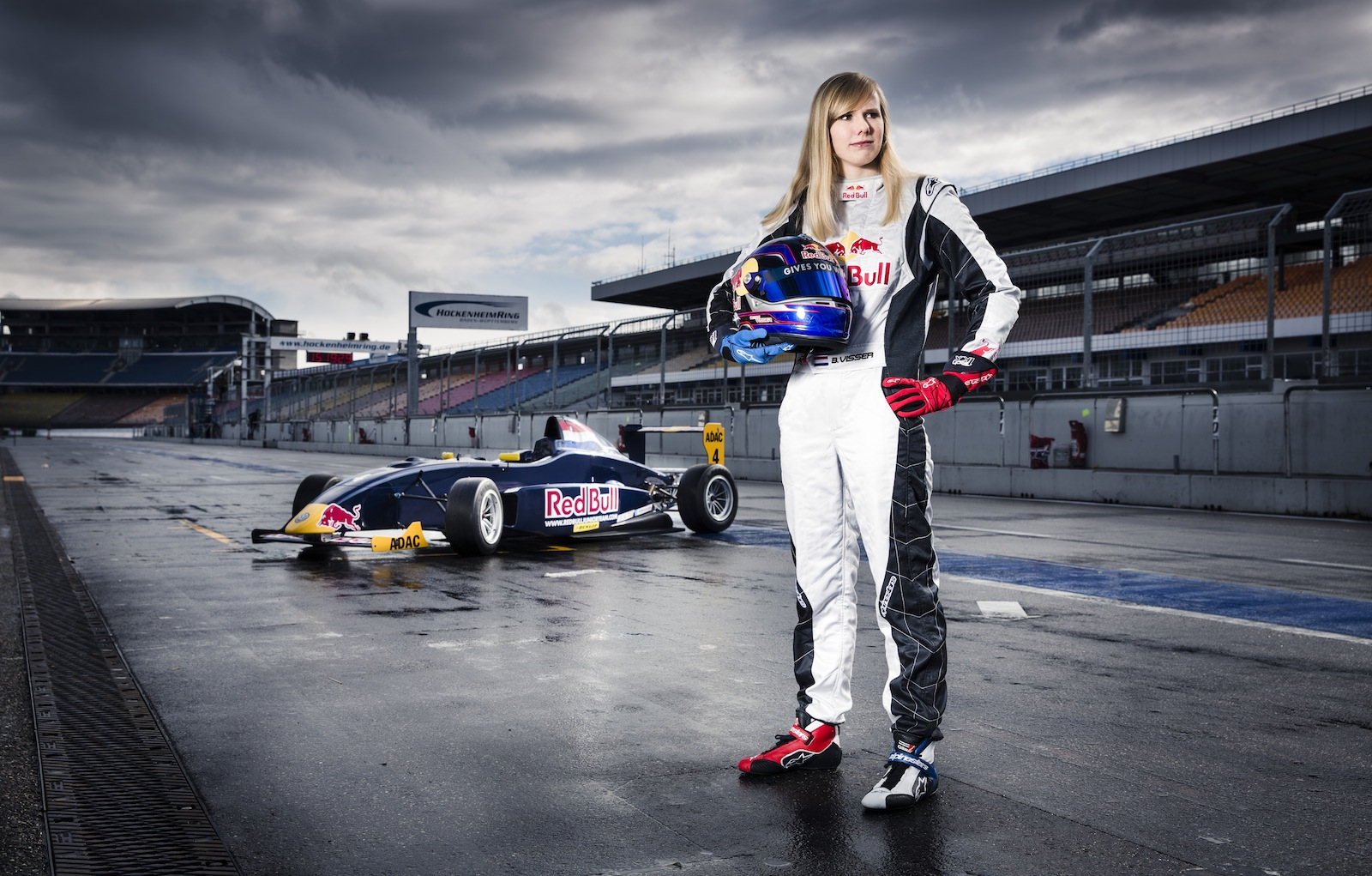 Red Bull Signs First Ever Female Racer To Junior Team