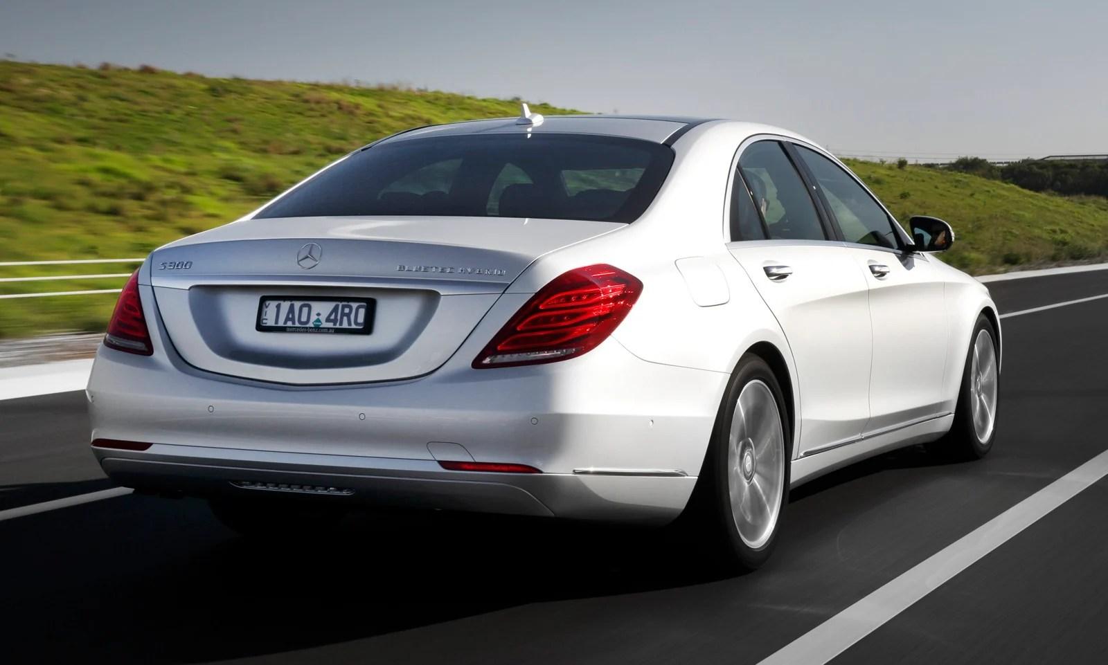 Mercedes Benz S Class Range Expands S300 BlueTEC Hybrid