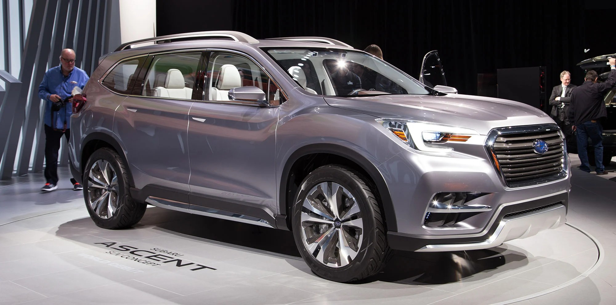 Subaru Ascent Concept Seven Seat Tribeca Replacement