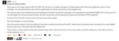 Craig Wright drohte mit Bitcoin-Kursmanipulation: Was ist daraus geworden?