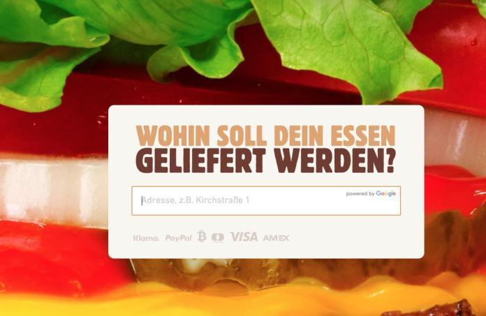 Payment options on the Bklieferservice.de homepage
