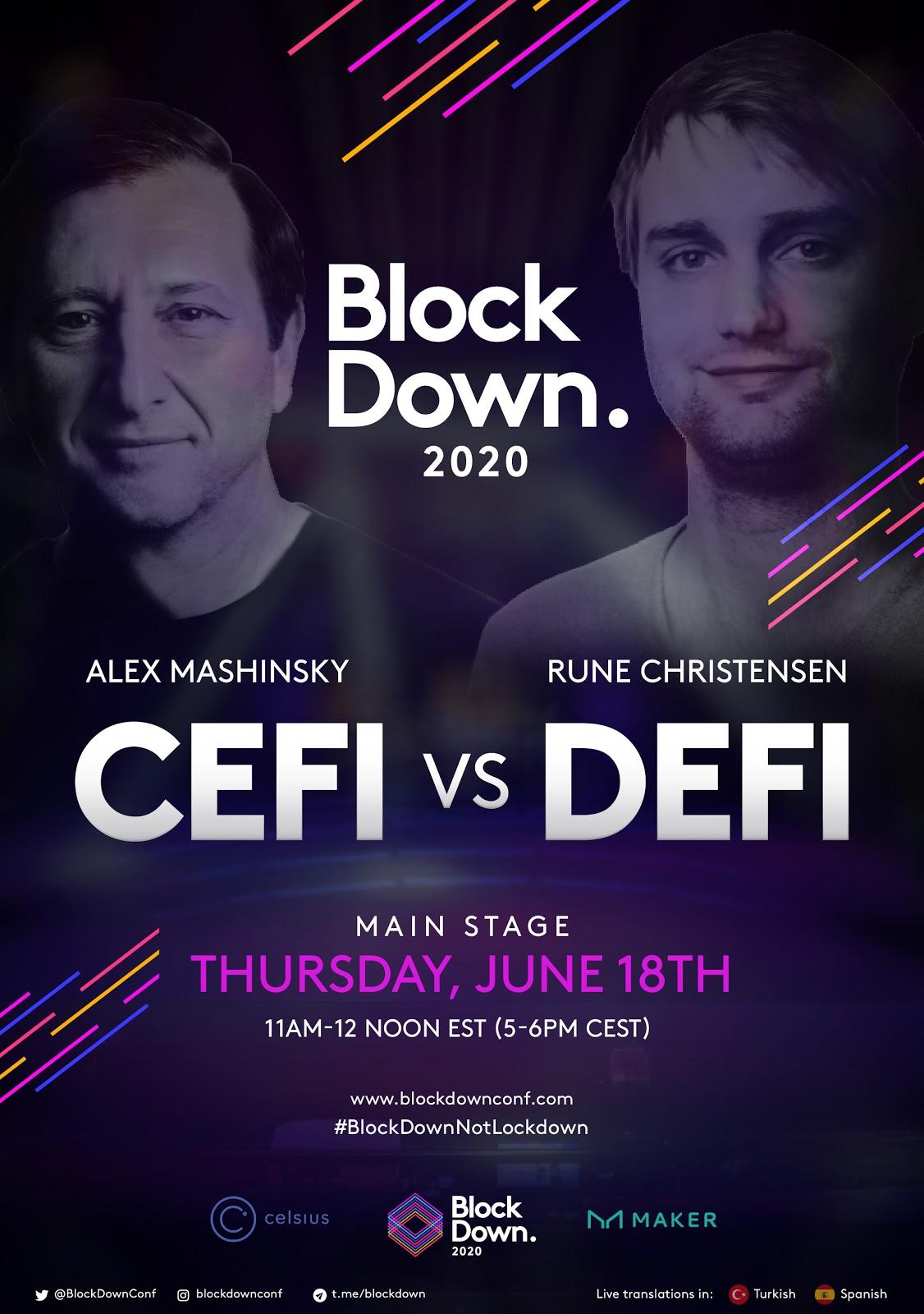 Blockdown 2020.