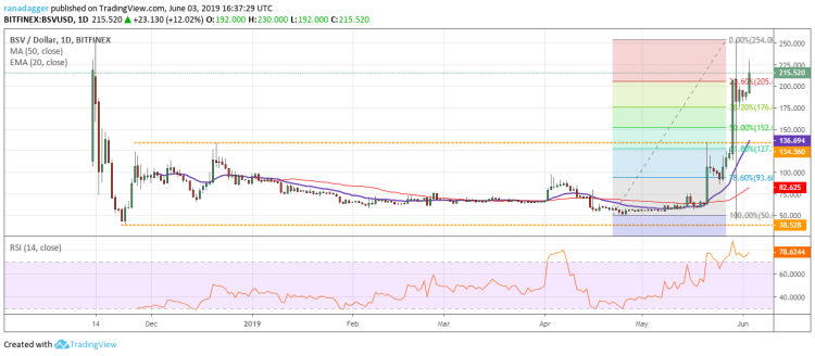 BSV/USD Price Analysis