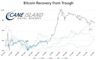 """Bitcoin bei 75.000 US-Dollar """"innerhalb von Wochen""""? Erholung ähnelt Rallye von 2013"""
