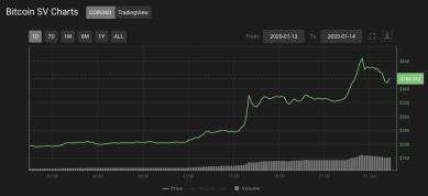 Craig Wright sorgt mit neuen Behauptungen für dramatischen Kursanstieg von Bitcoin SV