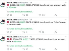 Tether USDT Surpasses XRP as the 3rd Largest Cryptocurrency