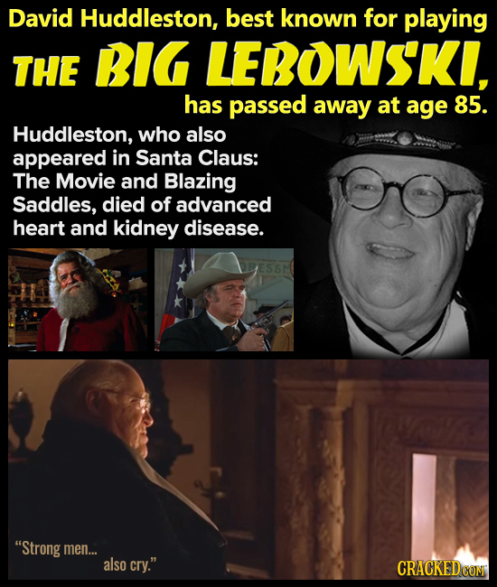 Big Lebowski David Huddleston dies