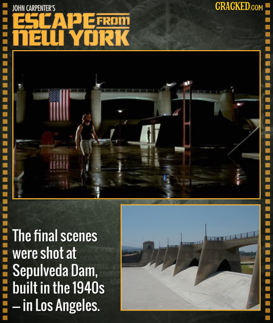26 Amazing Facts About Well-Known Movie Locations
