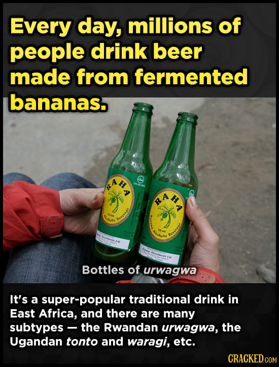 29 Weird Things You Didn't Know About The Booze You Drink