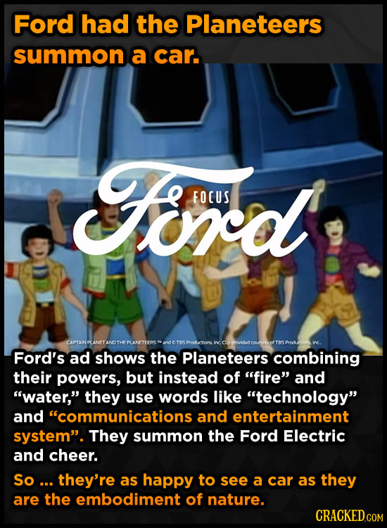 Pop Culture That Was Ruined By Appearing In Ads