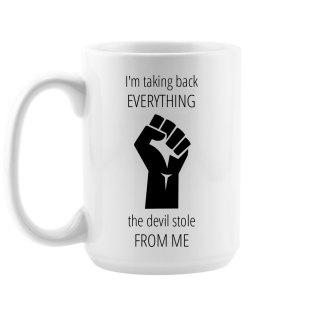Take Back Devil Stole Mug