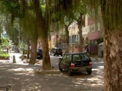 les rues typiques de Botafogo