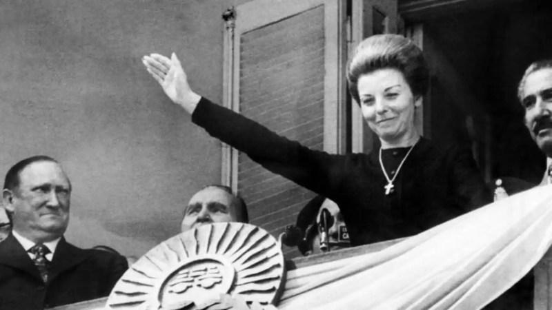 Resultado de imagen para María Estela Martínez de Perón