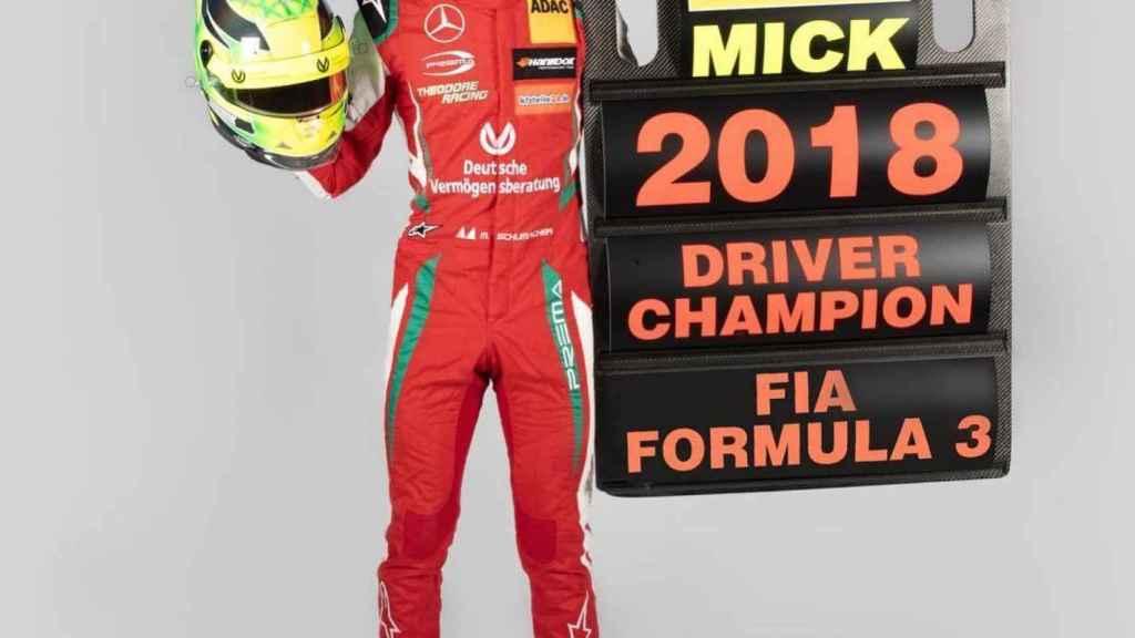 Mick Schumacher, campeón de la Fórmula 3 europea