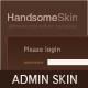 Handsome Admin Skin - ThemeForest Item à venda