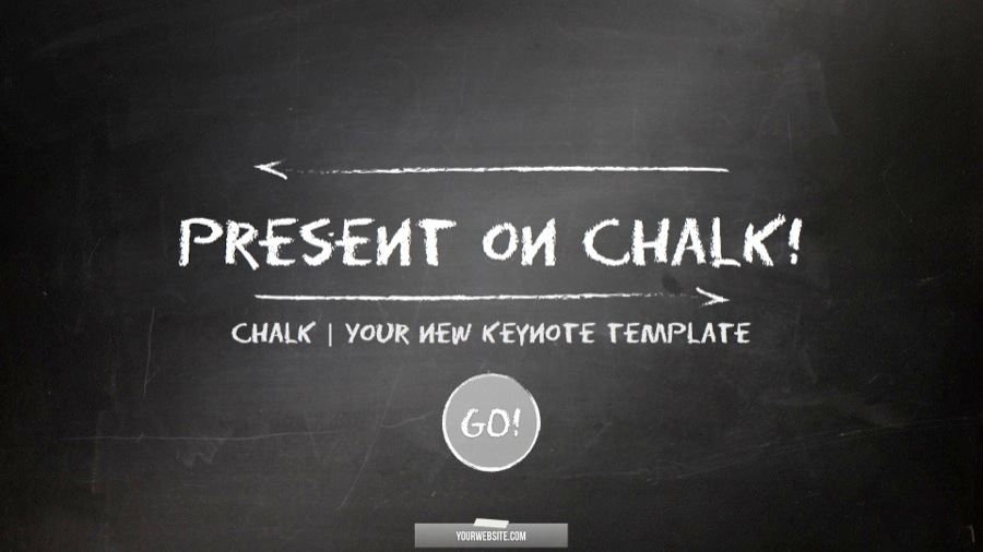 Chalk Business And Sports Keynote Template By Luca8link