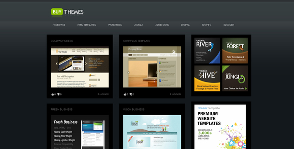 Buy Themes Blogger Gallery Template By Settysantu