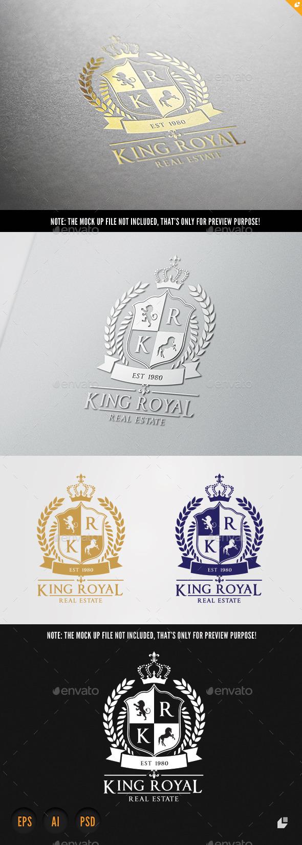 Real Estate Logo - Crests Logo Templates