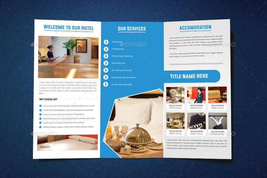 Hotel Tri Fold Brochure Design By Graphicsdesignstudio