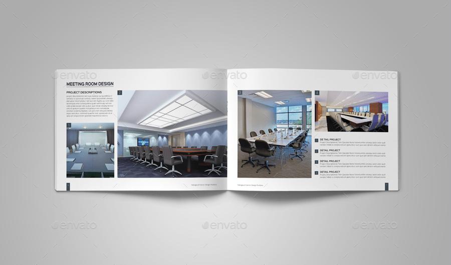 Interior design portfolio template for Online interior design portfolio