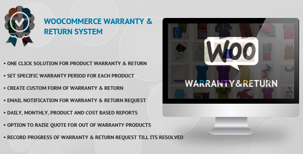 WooCommerce Warranty & Return System