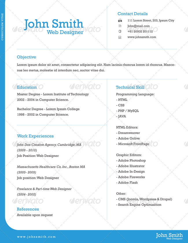1 page resume resume sample