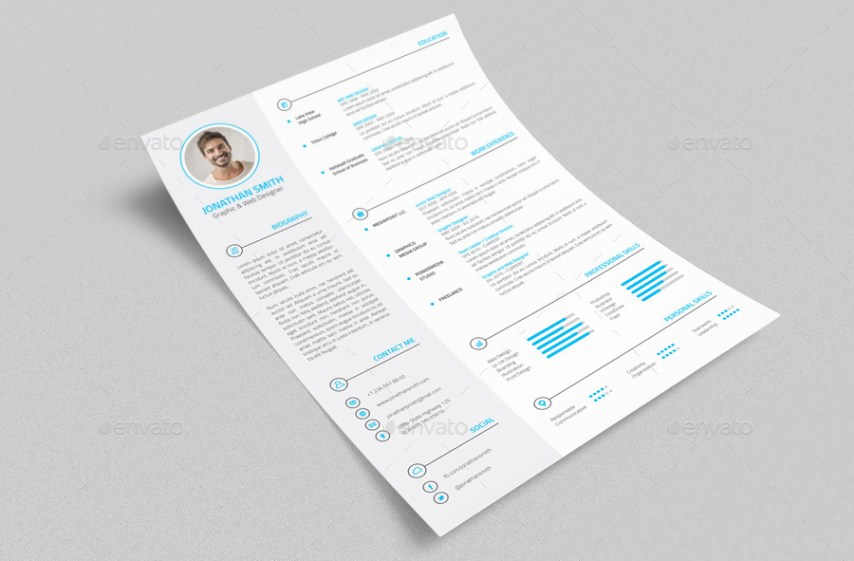 Professional Resume   CV   4 Pieces by nazdrag   GraphicRiver Professional Resume   CV   4 Pieces
