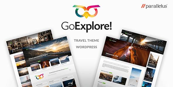 Travel WordPress Theme - GoExplore!