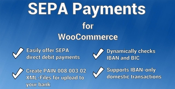 SEPA Payment Gateway for WooCommerce