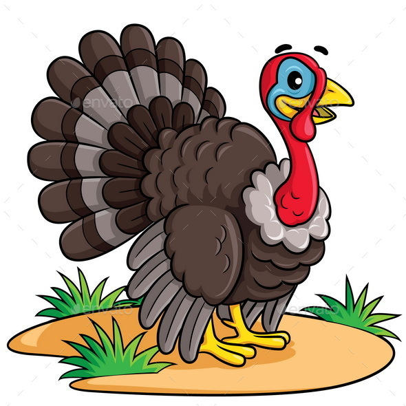 Picture Turkey Acartoon