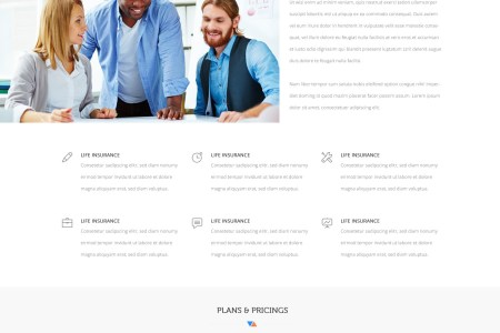 Convo   Insurance Agency PSD Template by KL Webmedia   ThemeForest Convo   Insurance Agency PSD Template